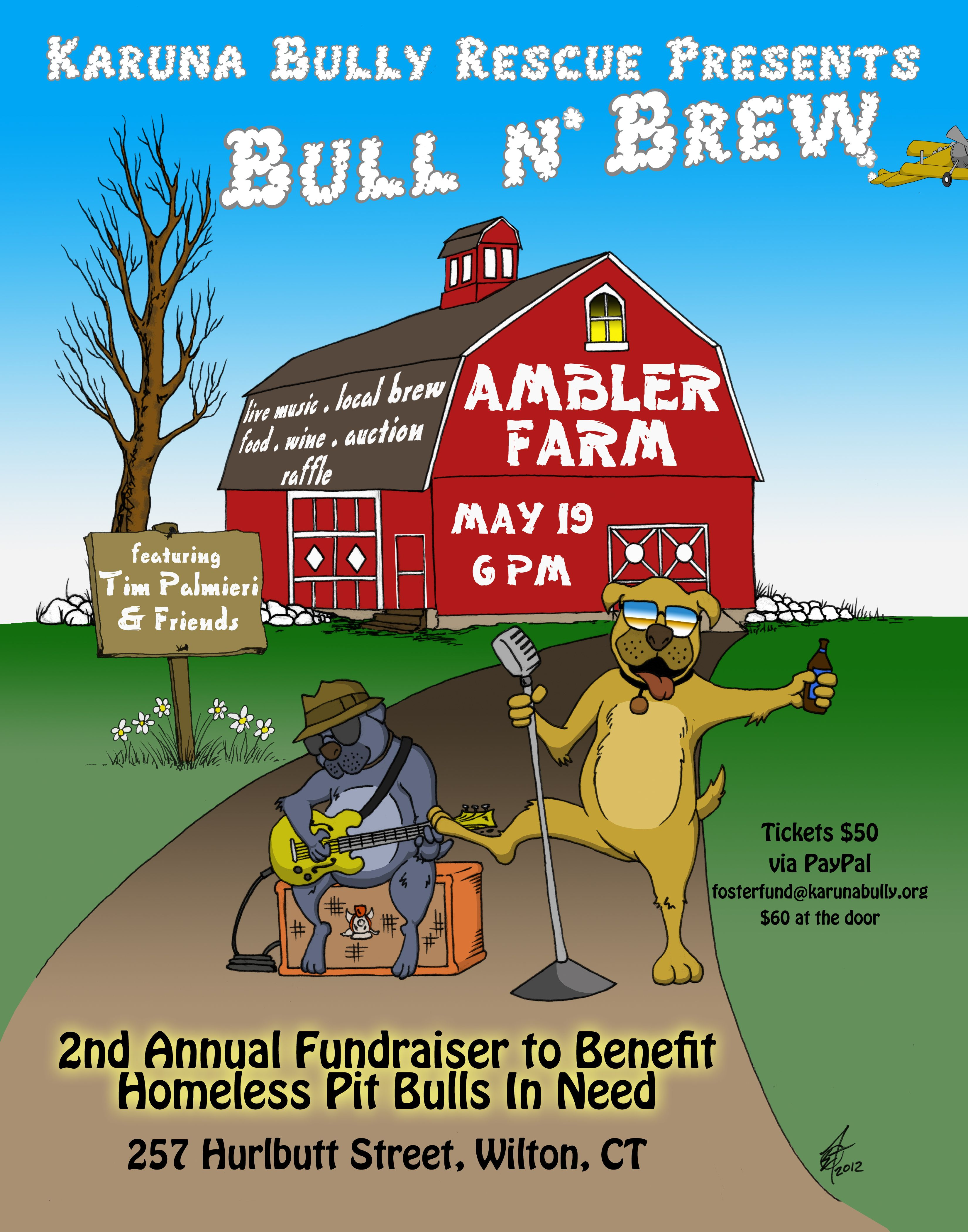Bull N Brew Sat May 19th Fundraiser To Benefit Homeless Pups In Wilton Ct Two Of My Painting Will Be Here Pet Art Mel Fundraising Best Beer Pitbull Rescue
