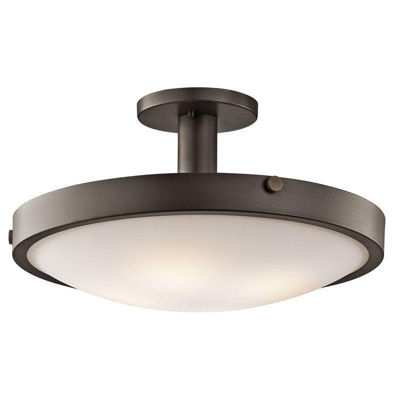 Kichler 42246 Lytham 4 Light Semi-Flush Indoor Ceiling Fixture
