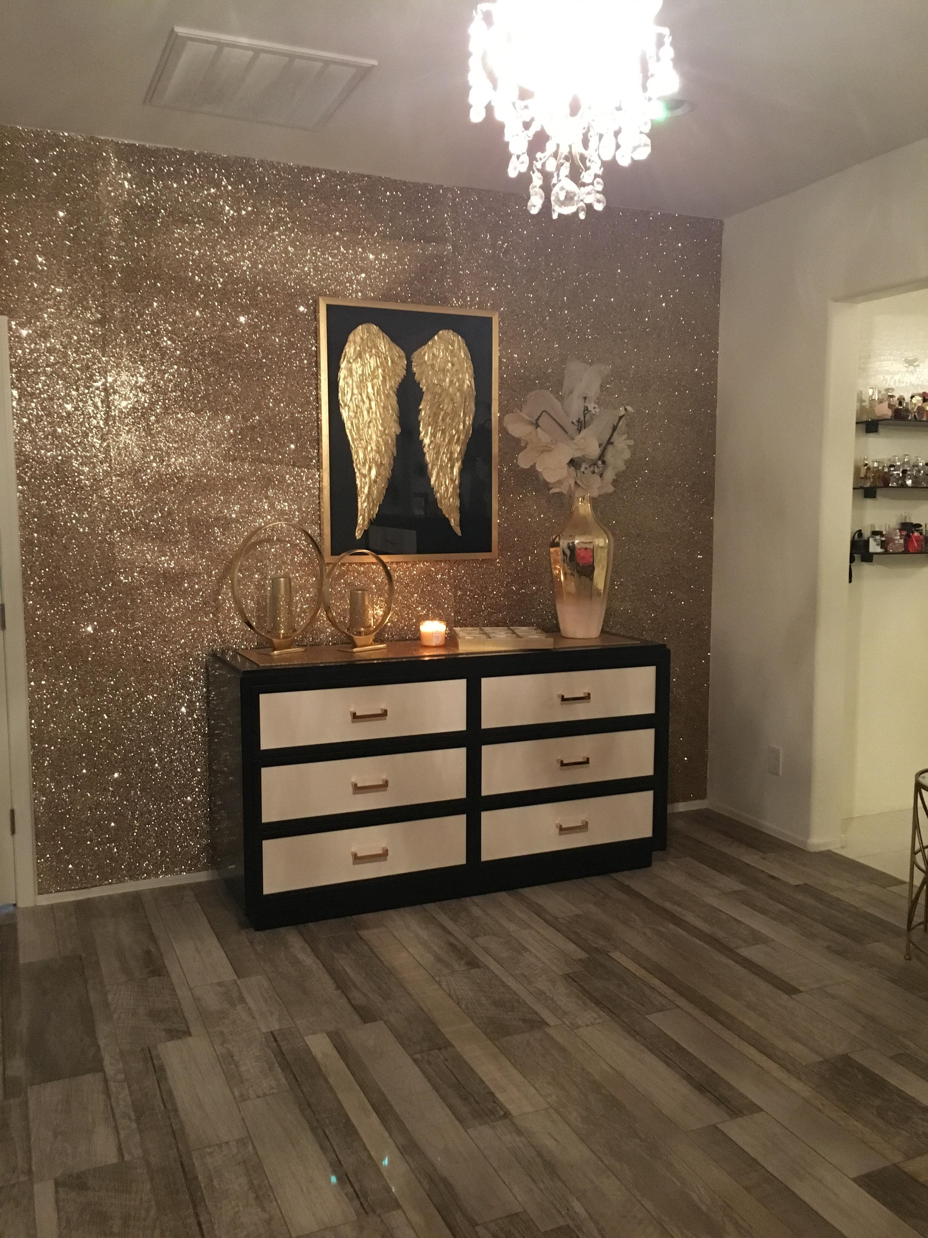 Accent Wall With Z Gallerie Angelic Picture Amp Decor W