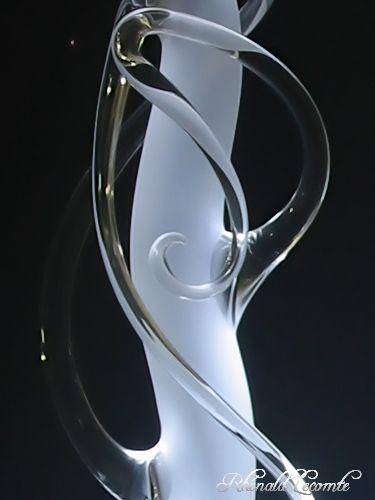art verrier lampes sculpture design en verre clairage leds rh nald lecomte verrier la. Black Bedroom Furniture Sets. Home Design Ideas