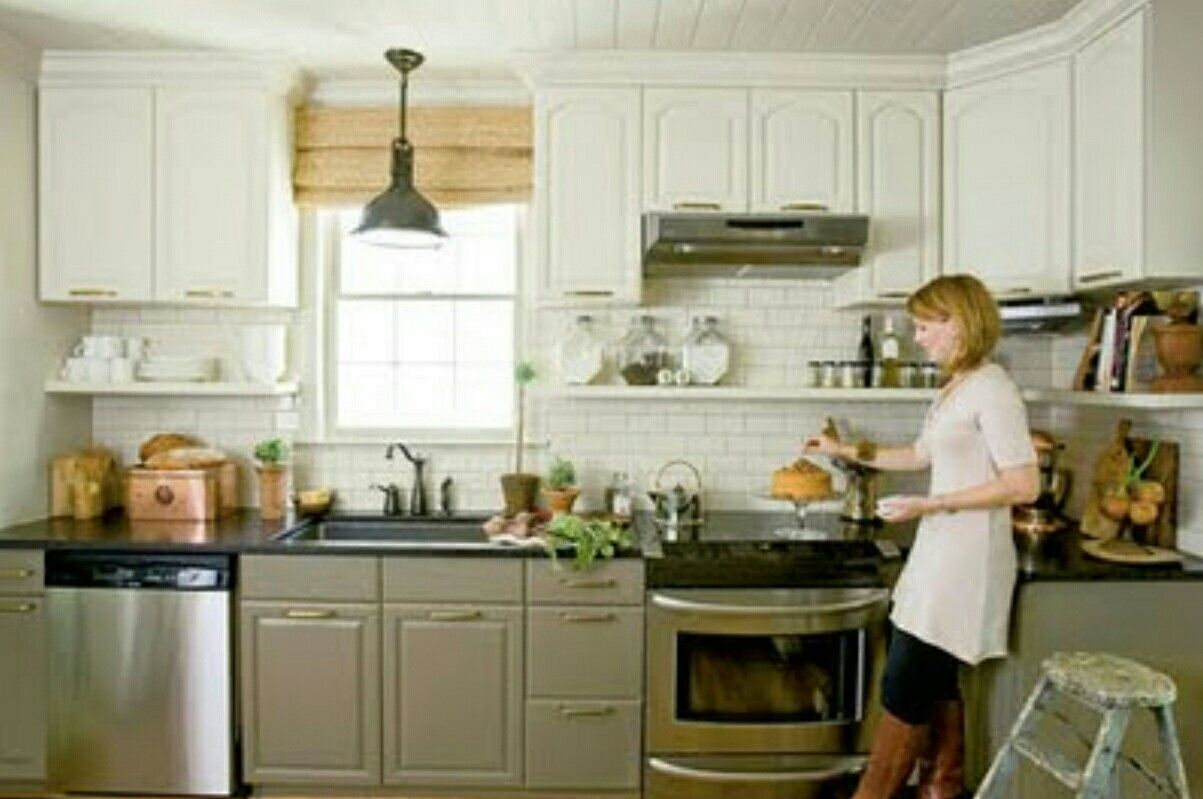 Painted cathedral cabinets | Corley Colliers | Pinterest