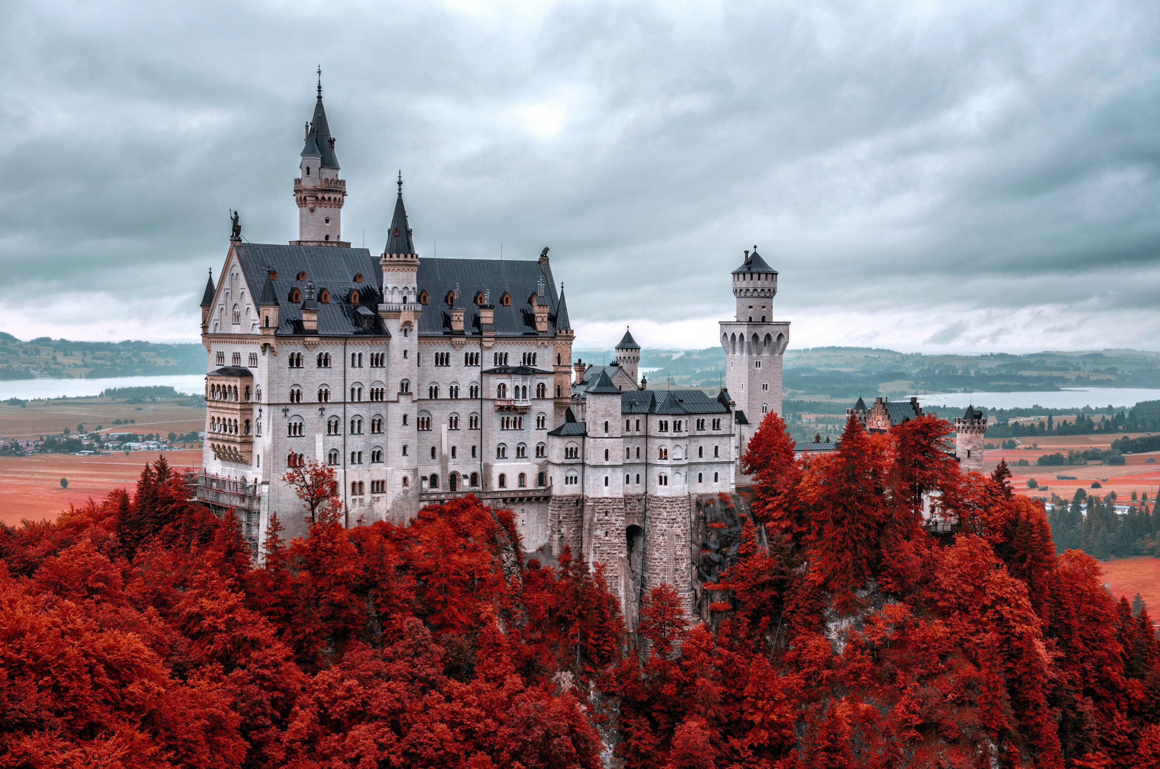 Neuschwanstein Castle 4k Download Best Hd 4k Wallpaper Hdwallpaper Desktop Neuschwanstein Castle Germany Castles Castle