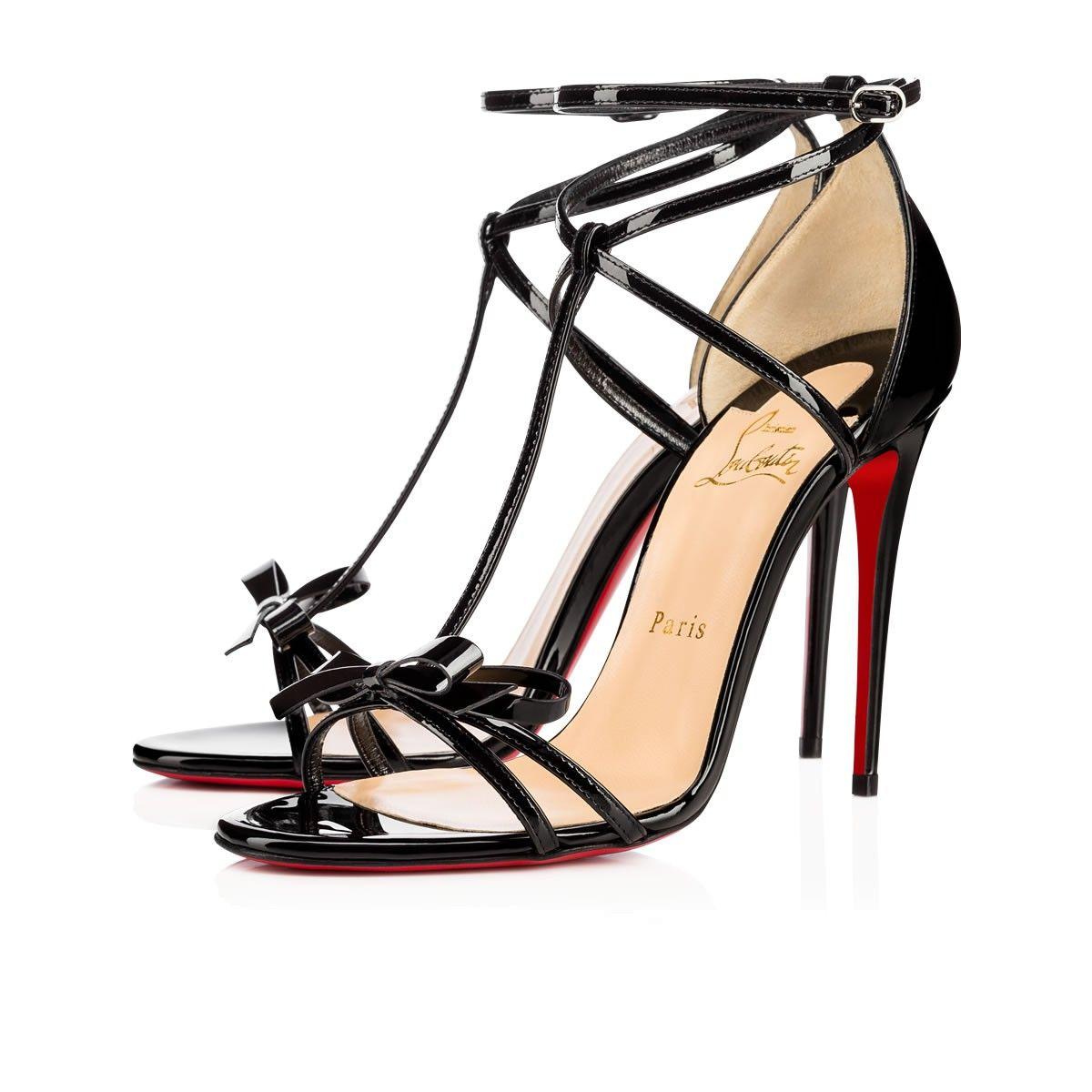 914cc91d6a8f CHRISTIAN LOUBOUTIN Blakissima 100 Black Patent Leather - Women Shoes - Christian  Louboutin.  christianlouboutin  shoes