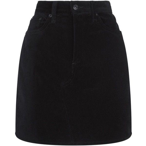 e96cf4d8cf Rag   Bone Velvet Mini Skirt (1