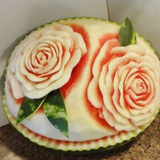 Watermelon Carving Basics: Roses!