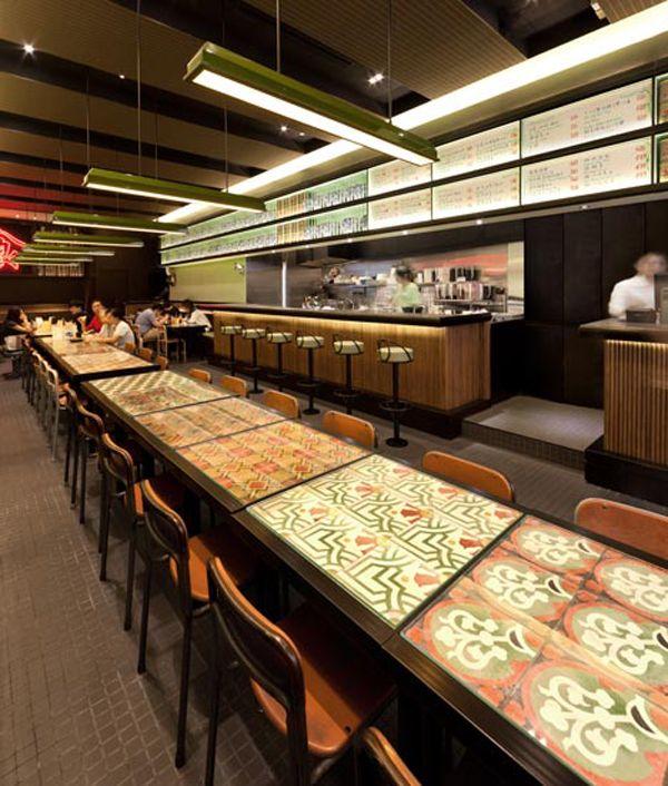 Malaysian Inspired Restaurant Design