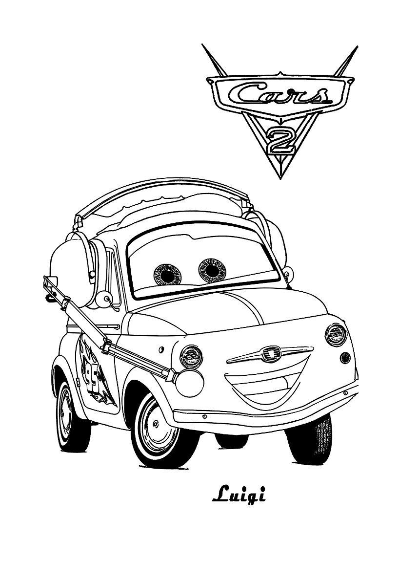 Coloring Pages For Kids Cars Cars 2 To For Free Cars 2 Kids Coloring Pages In 2020 Toy Story Coloring Pages Cinderella Coloring Pages Cars Coloring Pages [ 1150 x 818 Pixel ]