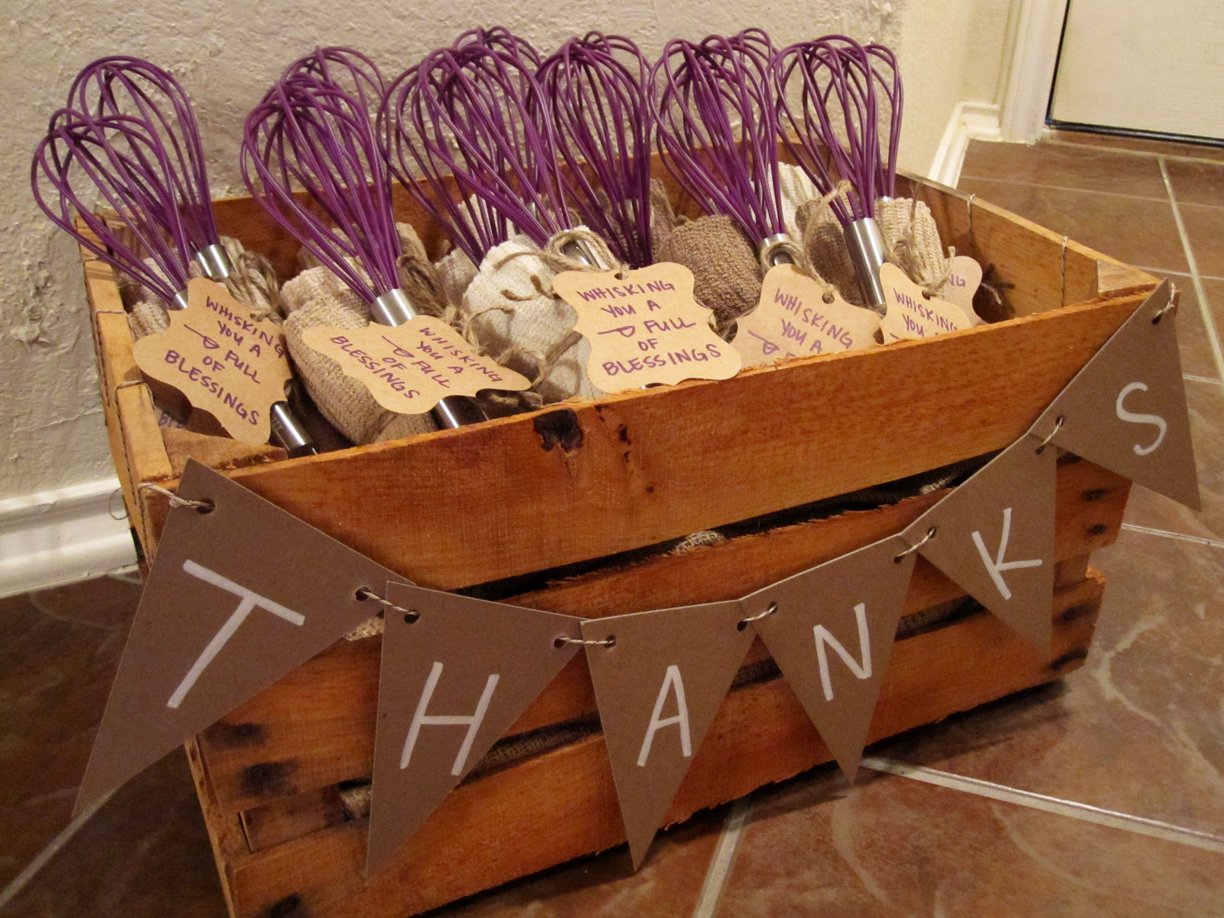 Hostess Gift For Bridal Shower Showers Pinterest
