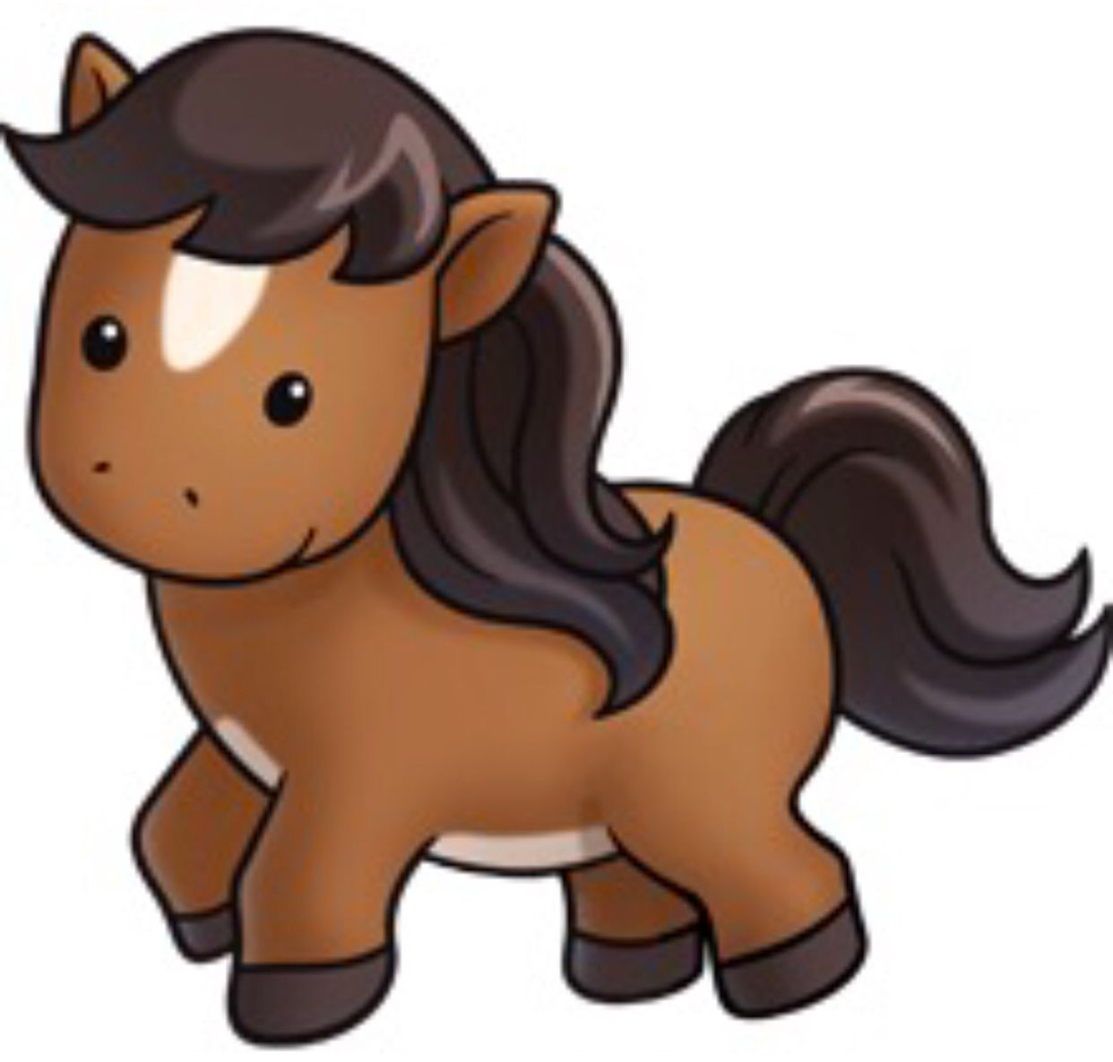 Pin By Kitty Knapen On Horse Horse Clip Art Cute Animal Clipart Baby Horses