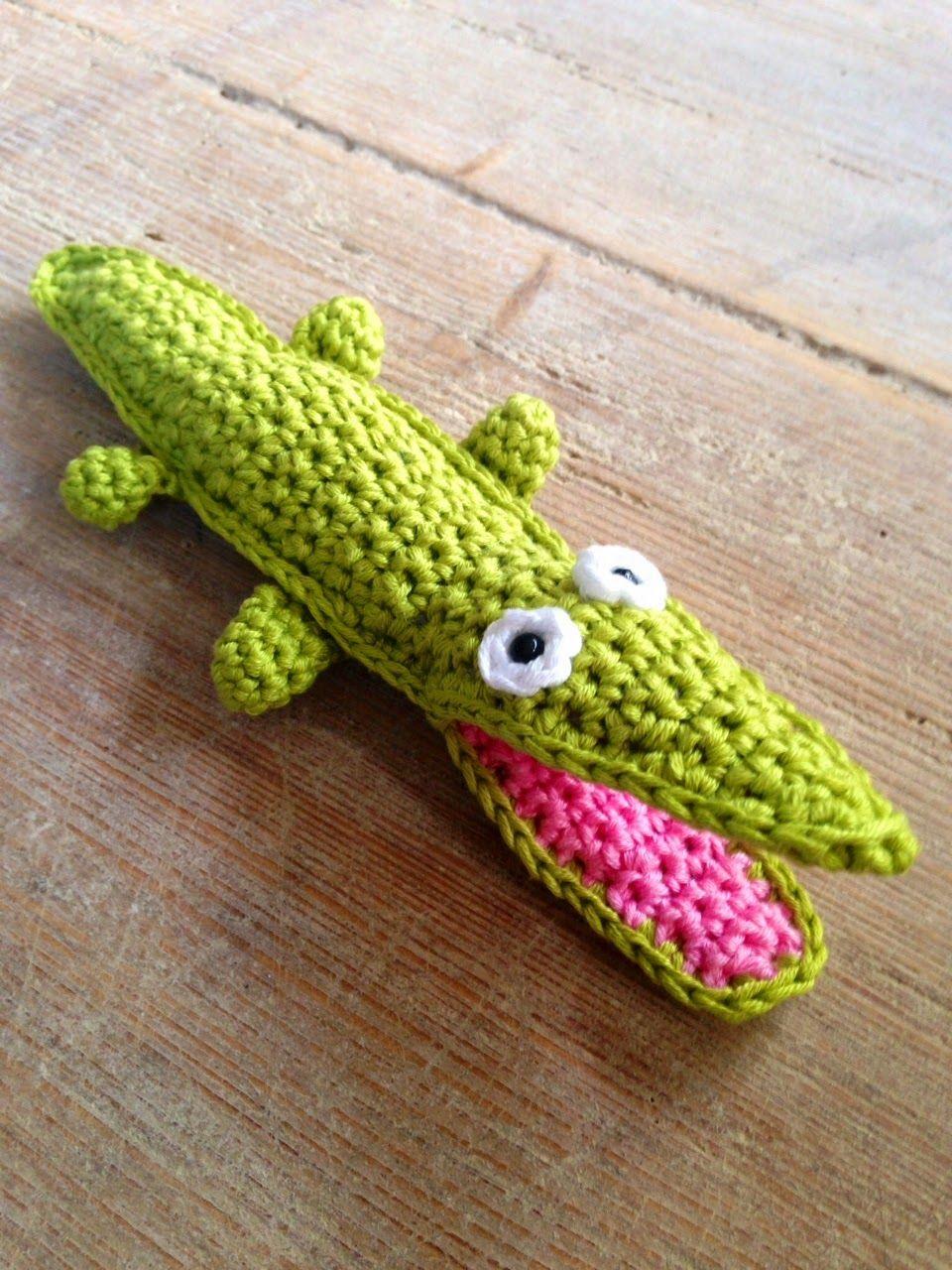 Alligator Image Xmas Card