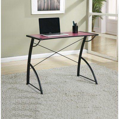 Osp Designs Reversible Top Computer Desk Pink And Black Trc25pbk By Osp Designs 73 81 Functional Design Reve Modern Workstation Desk Home Office Furniture