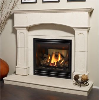 Real Looking Gas Fireplace