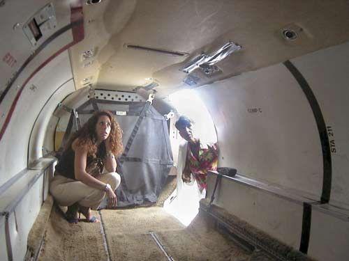 small cargo plane interior around the airplane pinterest