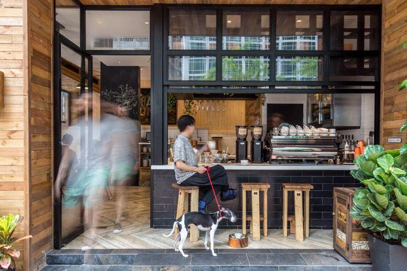 Elephant Grounds / JJA/Bespoke Architecture Coffee