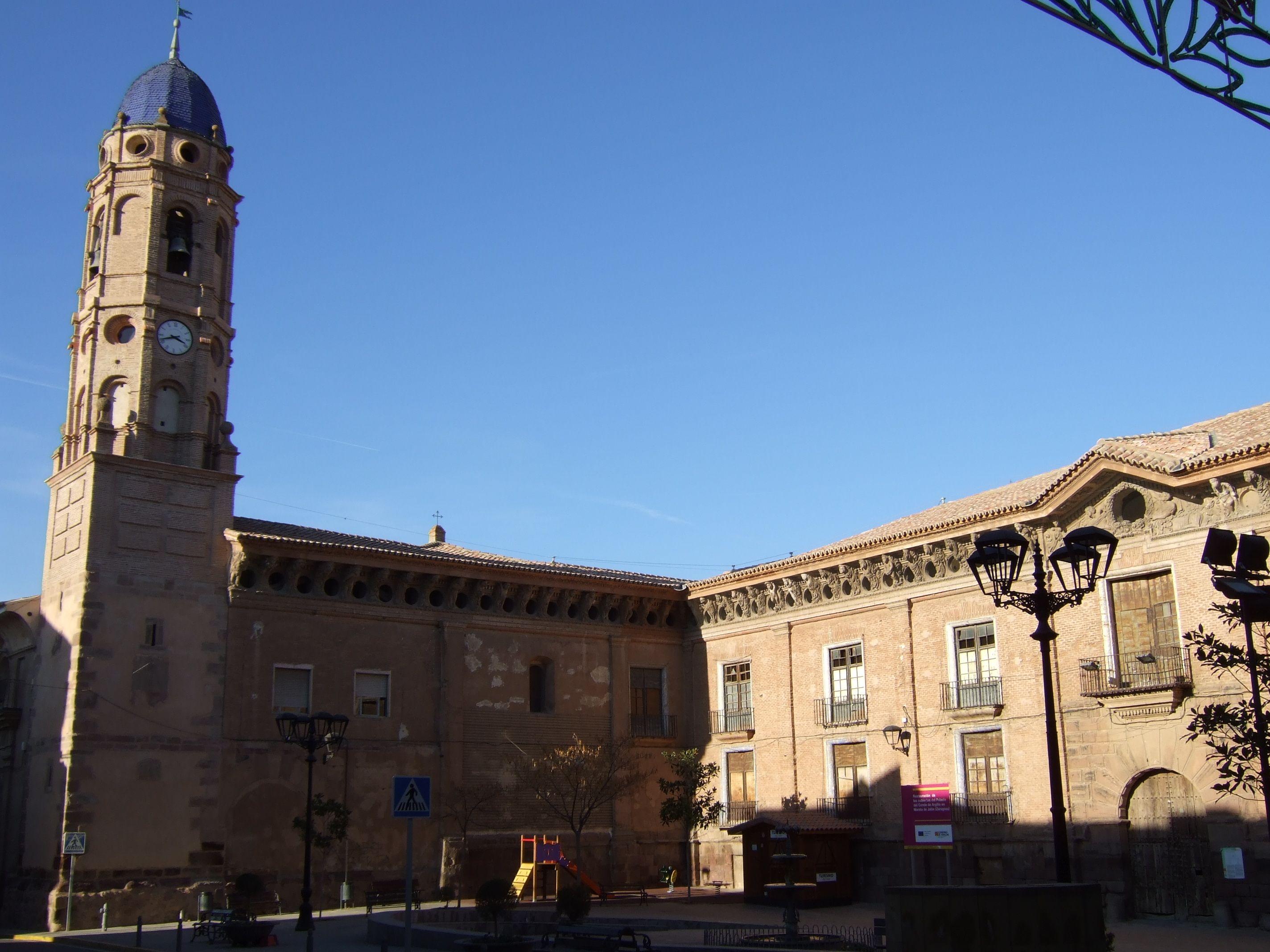 Morata de Jalón - Iglesia de Santa Ana - Palacio del conde de Morata o de los Condes de Argillo, Zaragoza
