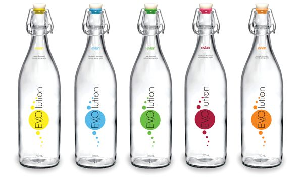 Evian flavoured-water on Behance in 2020 | Flavored water ...