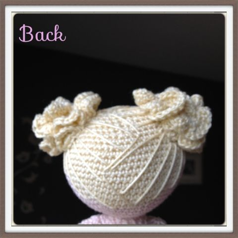 Amigurumi, crochet and sewing: Amigurumi doll hair part 2