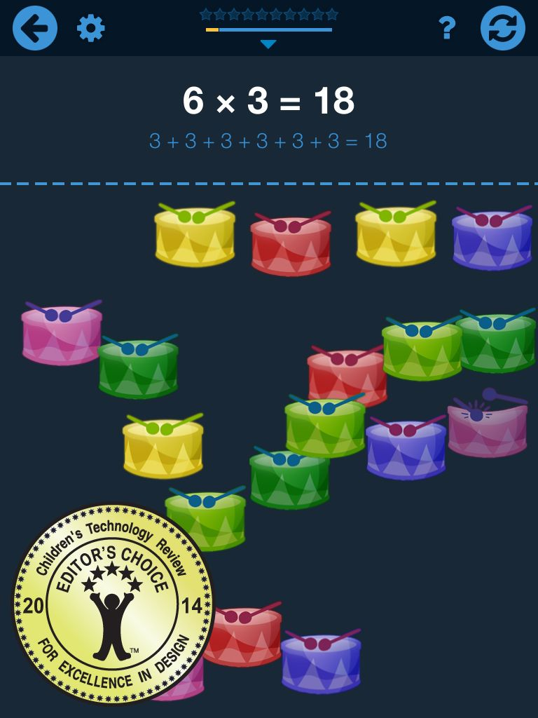 Understanding math times tables a great app to learn the times understanding math times tables a great app to learn the times tables by apppmedia gamestrikefo Images