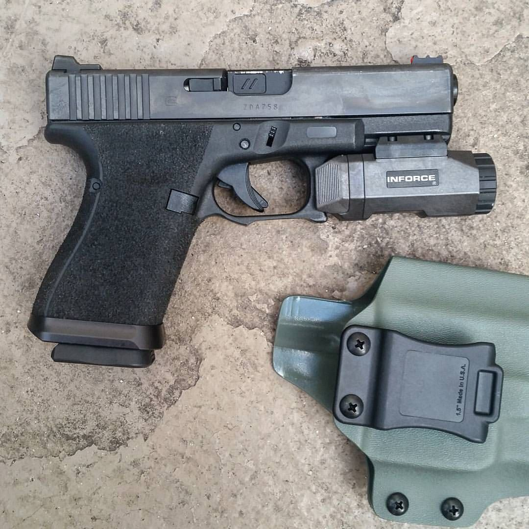 Inforce Apl Pistol Mounted Tactical Weapon Light Glock 19