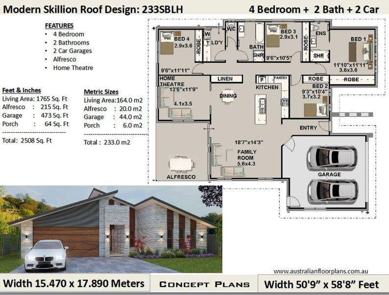 Pin On House Plans Open Floor