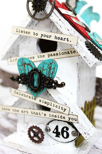Simply Paper Crafts: Listen to Your Heart