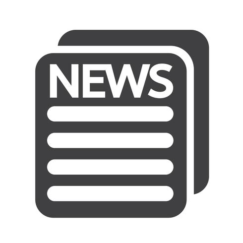News Icon Symbol Sign Free Vector Illustration Icon Symbols