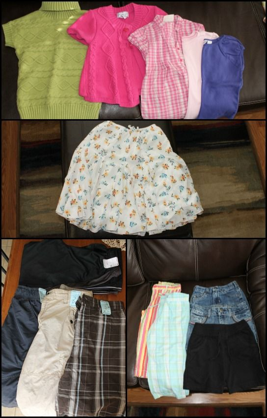 Consignment and Thrift Store Shopping For Kids Clothes