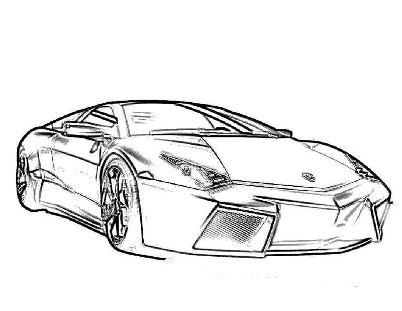 Coloring Pages Lamborghini Egoista Free The Most Expensive Sports