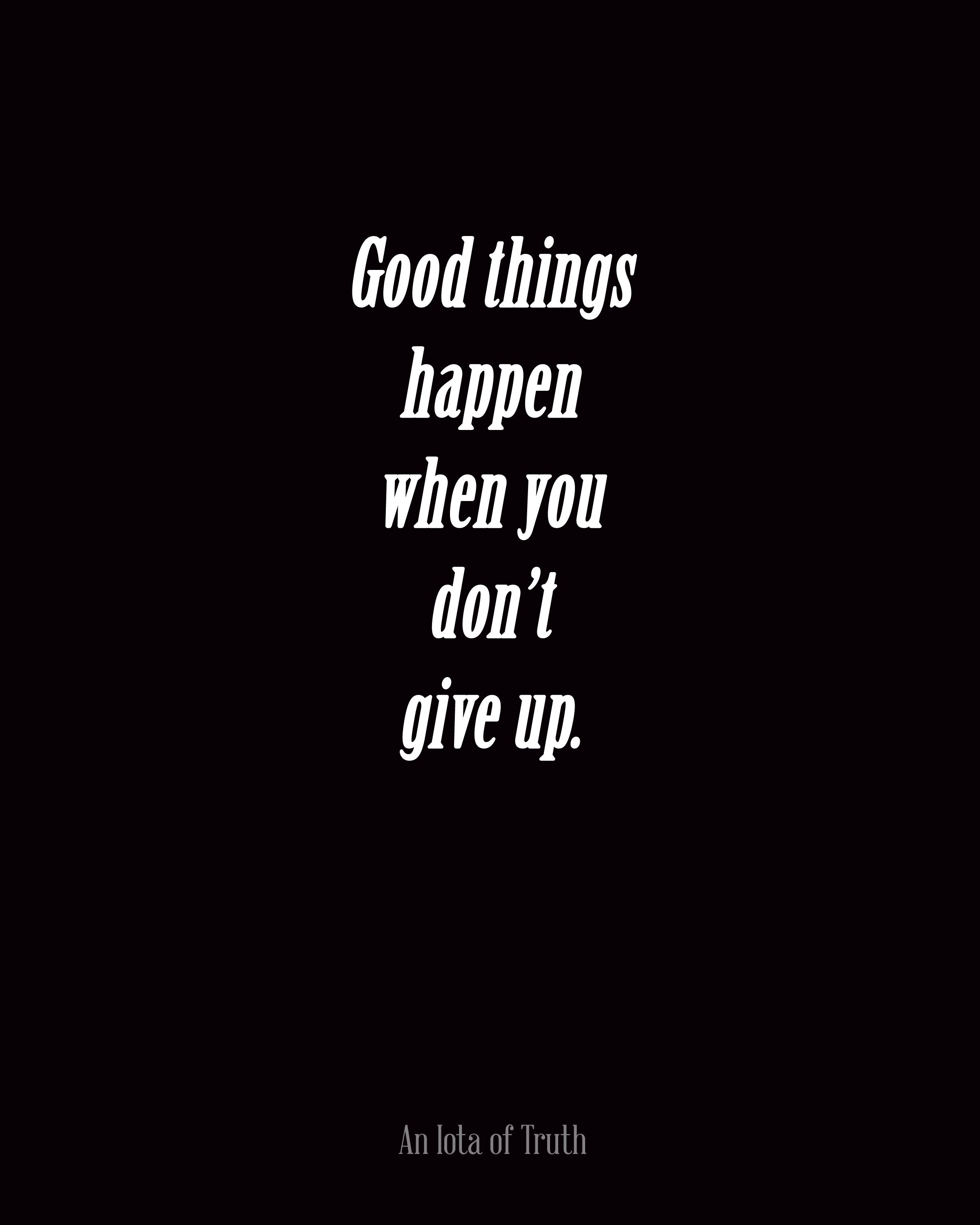 Never give up. #recovery