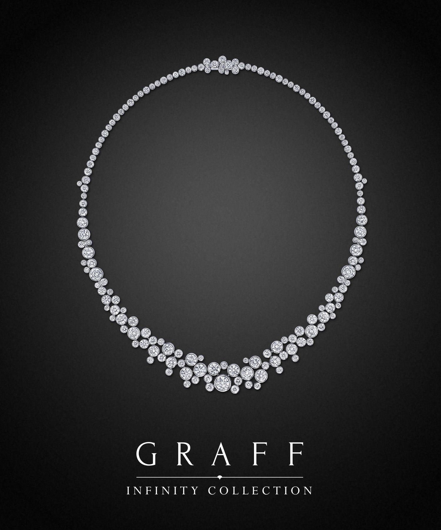 Graff Diamonds Round Diamond Necklace