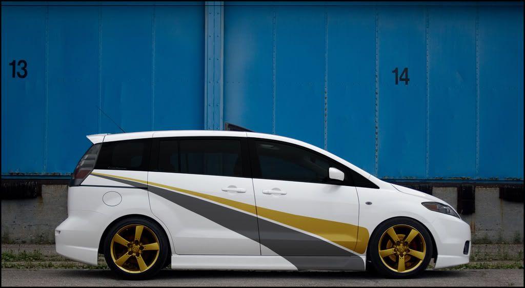 sweet paint job Toyota van, My ride, Mazda
