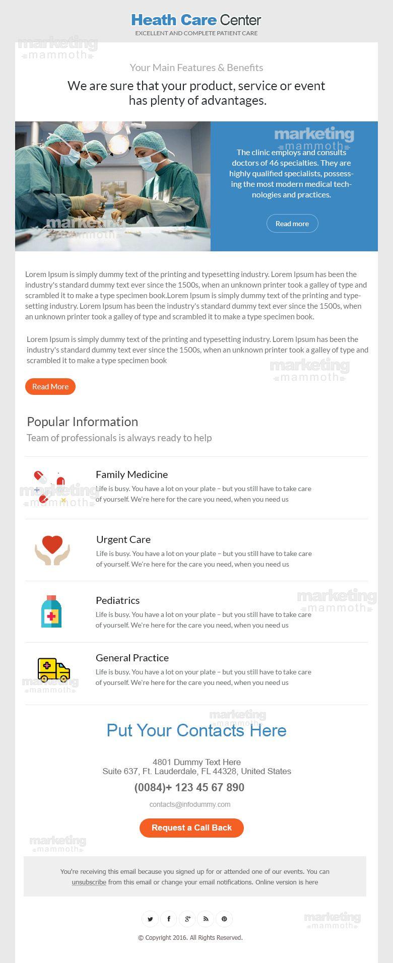 Pin by Marketing Mammoth on Marketing Mammoth Heath care
