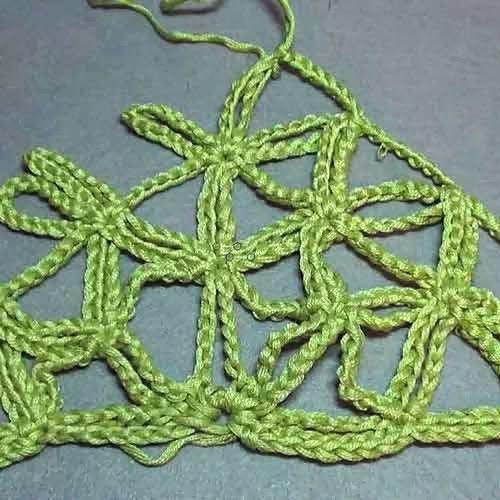 Patrones Crochet: Tutorial Punto Crochet Flor-Cadenas | Puntos ...