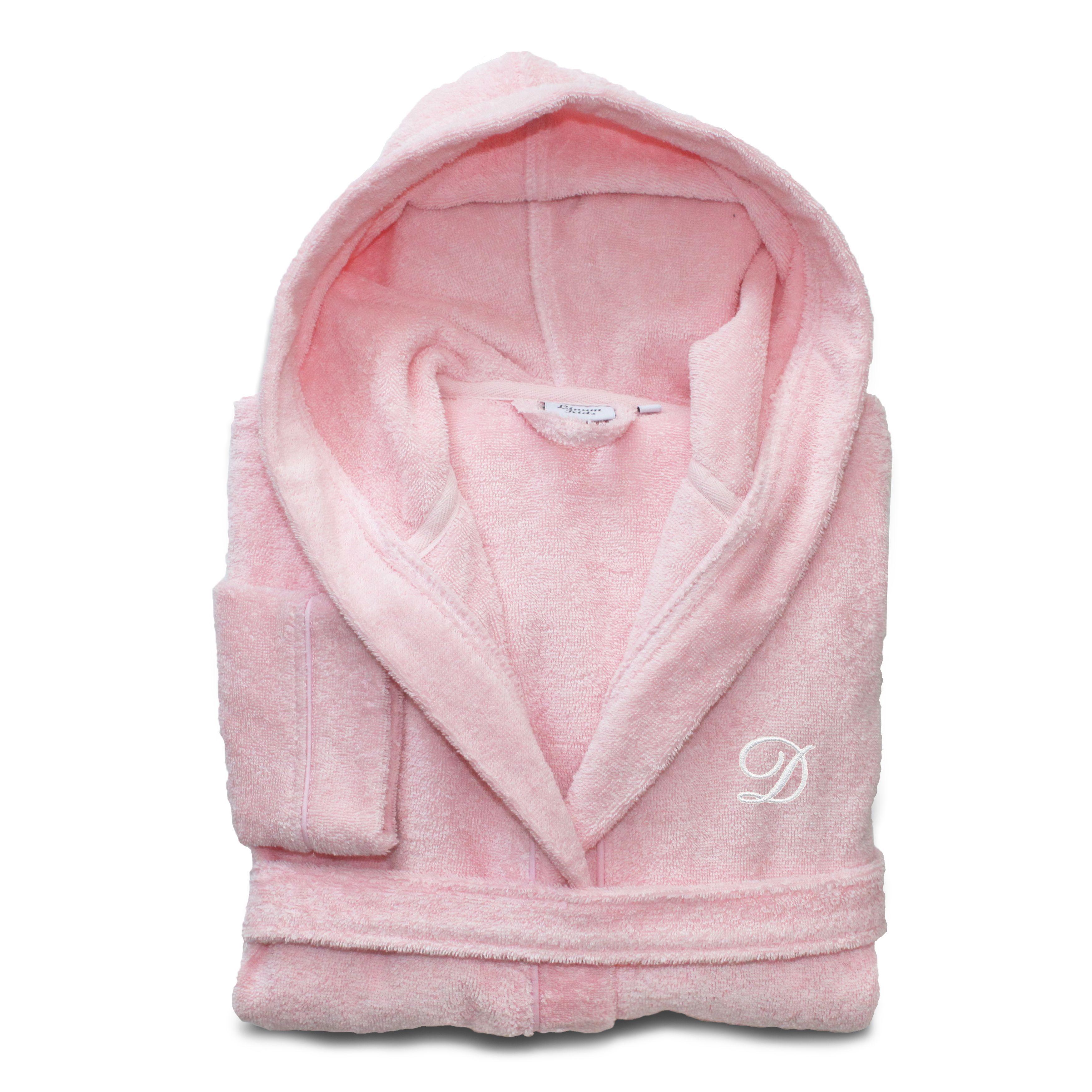 Sweet Kids Turkish Cotton Terry Pretty Pink with White Monogram ... c44a57eb3