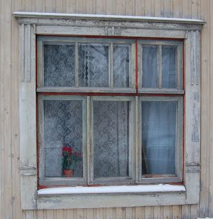 Villa Kotila: Vanhojen ikkunoiden kunnostaminen