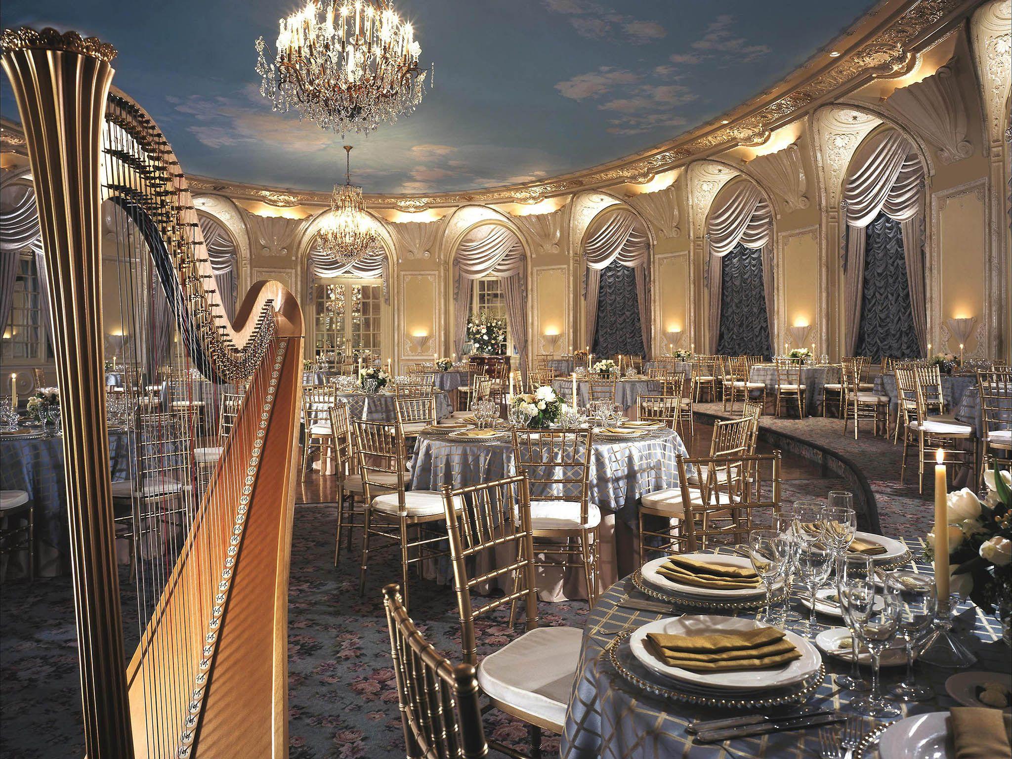 Fairmont Copley Plaza Hotel Events Room