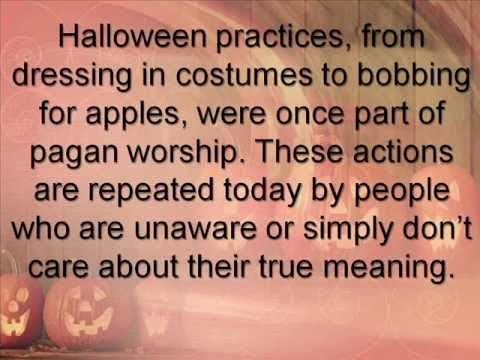 truth about halloween