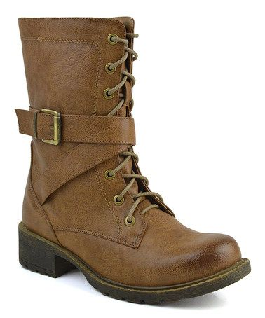 Another great find on #zulily! Taupe Margin Boot by Elegant Footwear #zulilyfinds