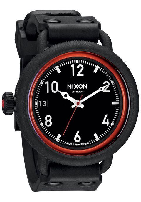 Nixon October All Black Red  420e798b8f