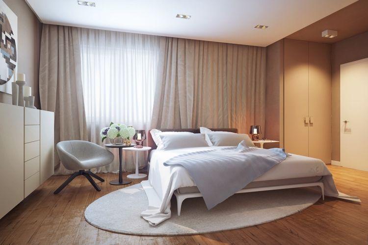 Ideen Für Schlafzimmer Gardinen | 31 Ideen Fur Schlafzimmergardinen Und Vorhange Schlafzimmer