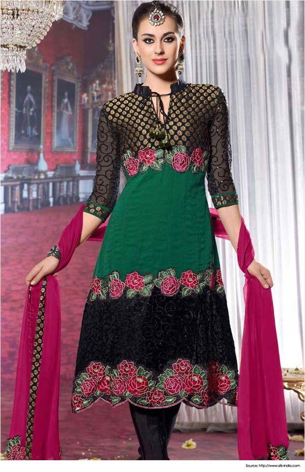 Punjabi suits neck designs punjabi dress designs stuff for Girls suit design