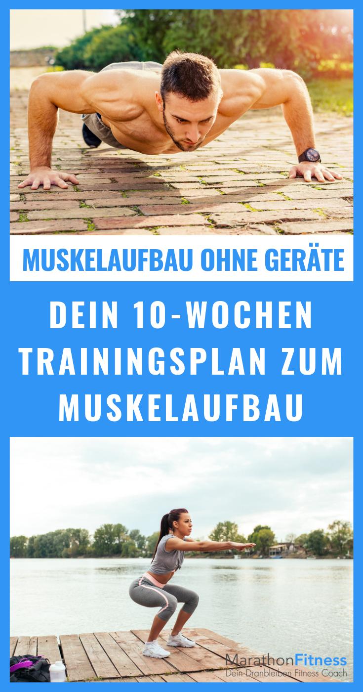 Trainingsrhytmus beim Muskelaufbau ohne Geräte #weighttraining