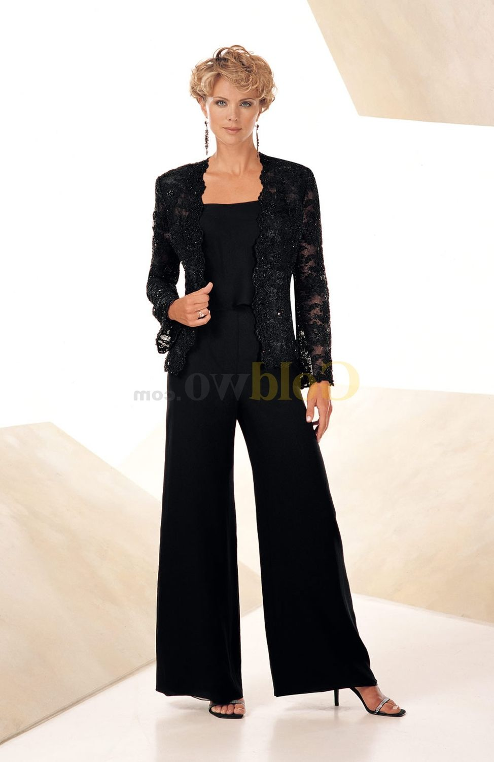 black pant suit for wedding  wedding ideas