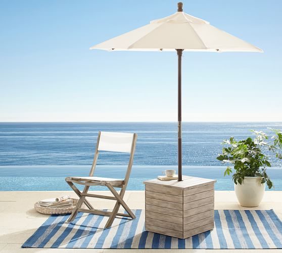 Pottery Barn Earth Day Sale Up To 30 Off Eco Friendly Furniture Home Decor In 2020 Patio Umbrella Stand Patio Umbrella Offset Patio Umbrella