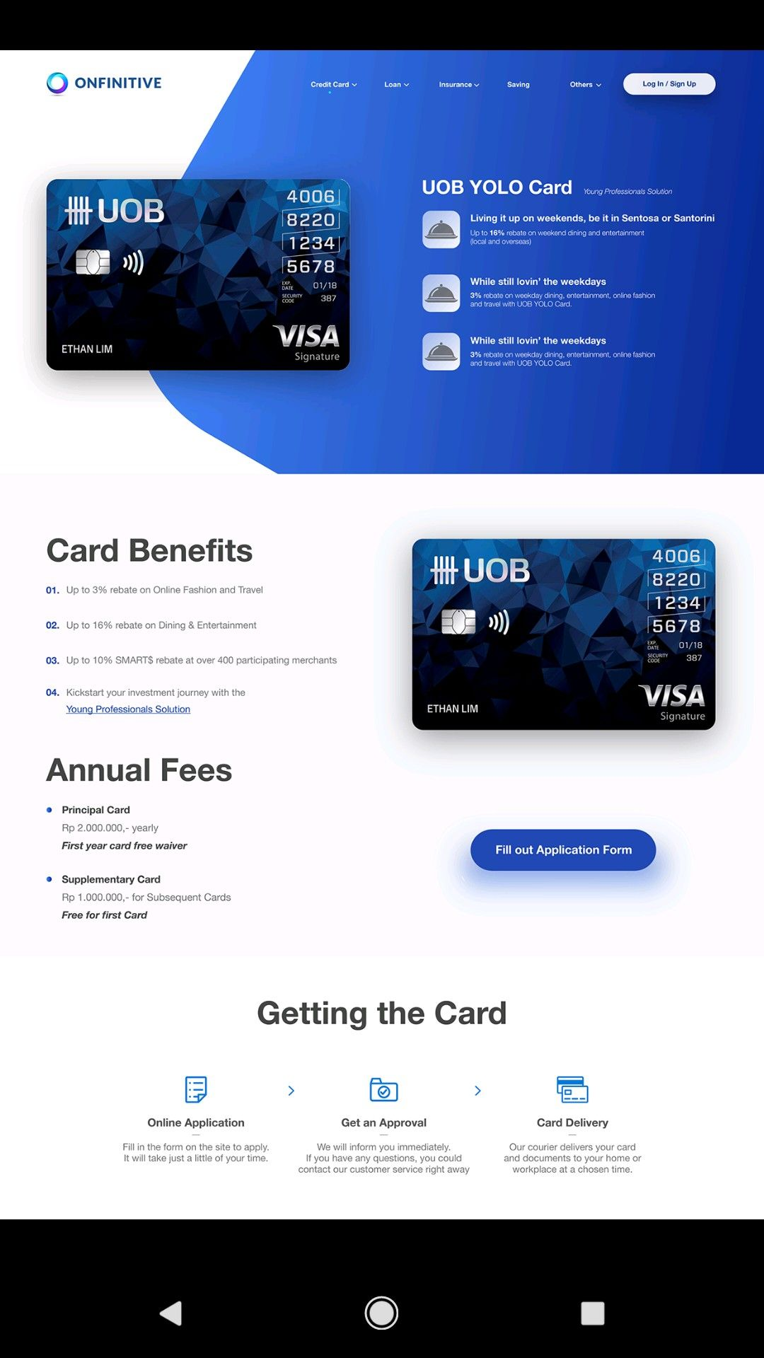 Professional Website Design For A Credit Card Company What Do You Think We Desig Credit Card Website Professional Website Design Website Design Inspiration