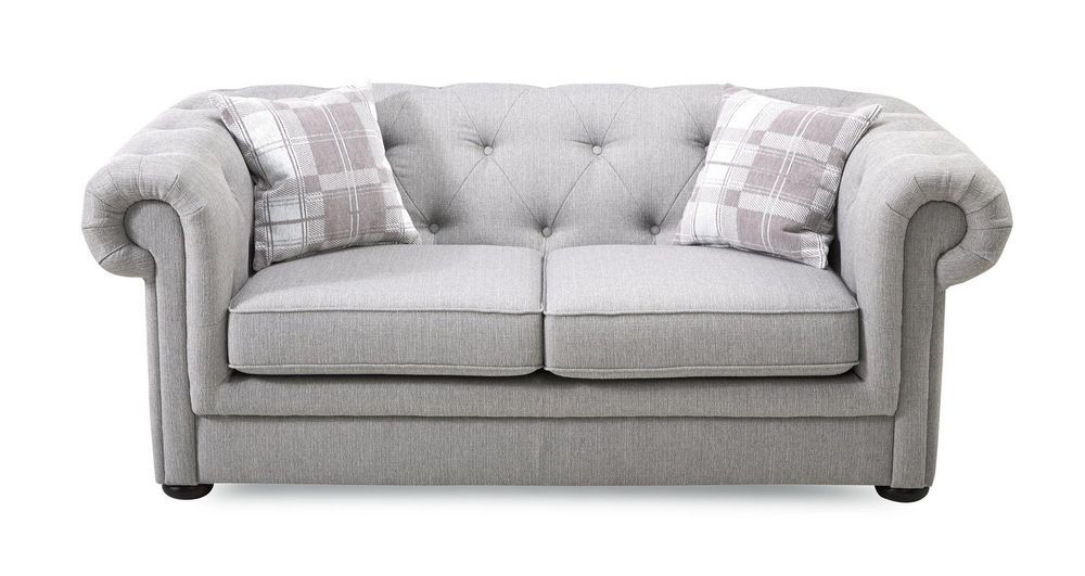 Dfs Opera Ash Grey Fabric 2 Seater Sofa Sofa Bed 2 Seater Fabric Sofa Bed Sofa