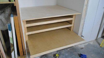 Studio Renovations Custom Wood Flat File Part 2 Flat Files