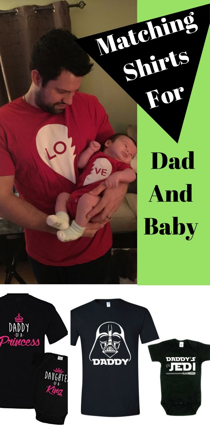 a4bd2f70 Adorable matching dad and baby shirts that you need. Matching baby and dad  shirts are a great gift for father's day, dad's birthday, or just because.
