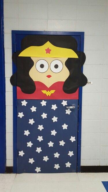 Wonder Woman Door School Pinterest Wonder Woman