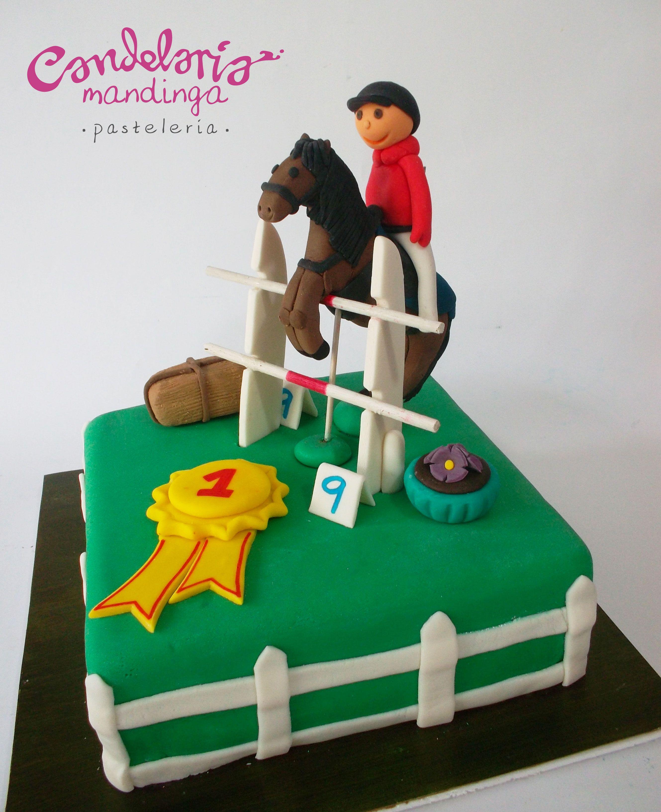 Horse Rider Cake